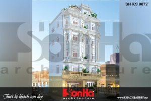 BÌA thiết kế khách sạn tân cổ điển 3 sao 6 tầng tại nha trang sh ks 0072