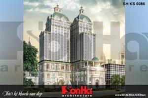 BÌA khách sạn 5 sao tân cổ điển 20 tầng tại nghệ an sh ks 0086